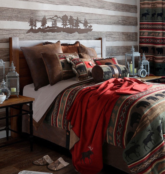 Rustic Bedding | Backwoods Cabin Bedding | The Cabin Shack