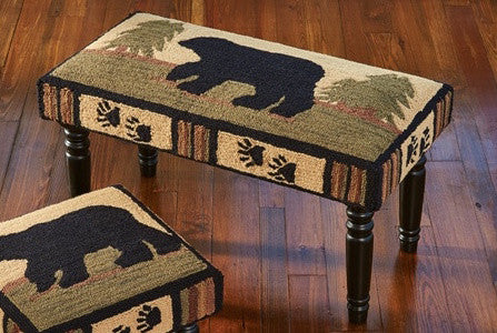 Black Bear Retreat Bench by Park Designs | The Cabin Shack