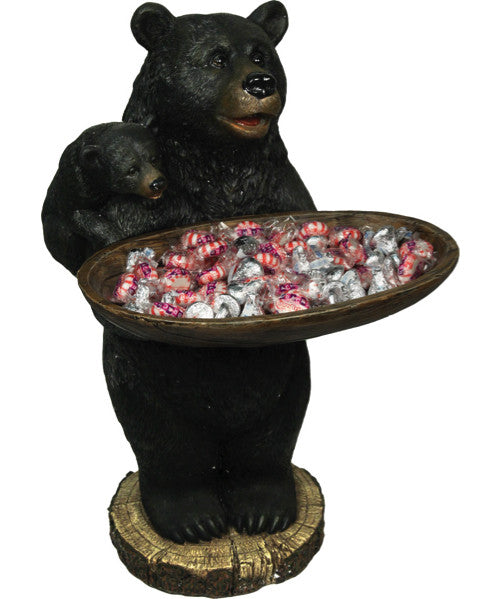 Black Bear Holding Tray | The Cabin Shack