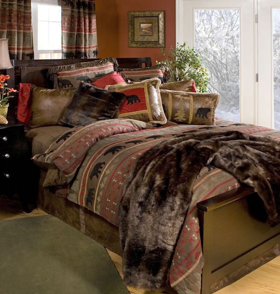 Rustic Bedding | Bear Country Cabin Bedding | The Cabin Shack