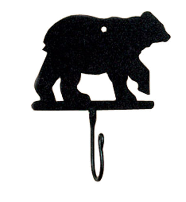 Cabin Decor - Bear Iron Hook - The Cabin Shack