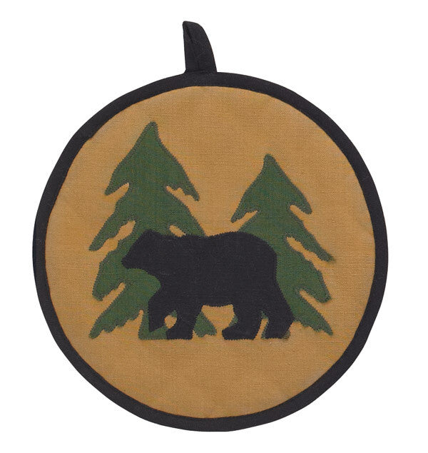 Bear Tracks Potholder
