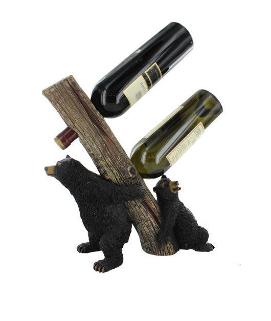 Black Bear Wine Holder