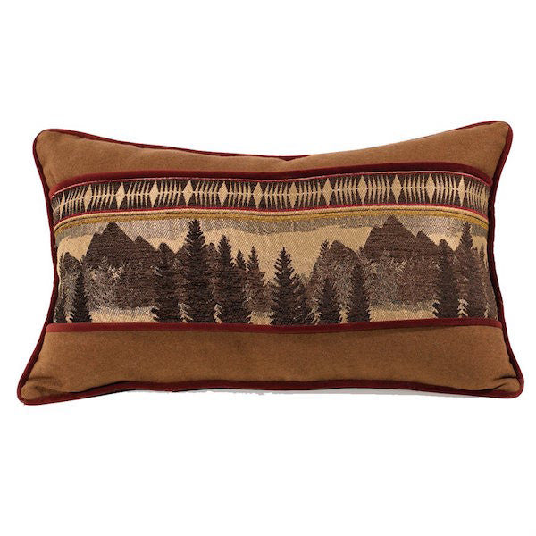 Briarcliff Rustic 16x26 Oblong Throw Pillow | The Cabin Shack