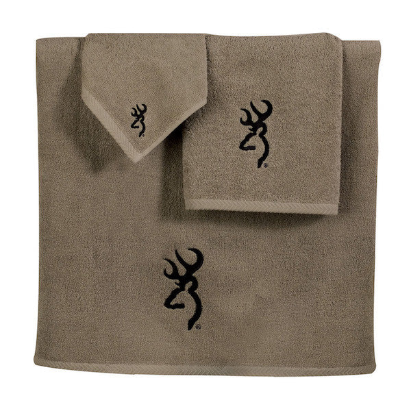 Browning Buckmark Towel Set | The Cabin Shack