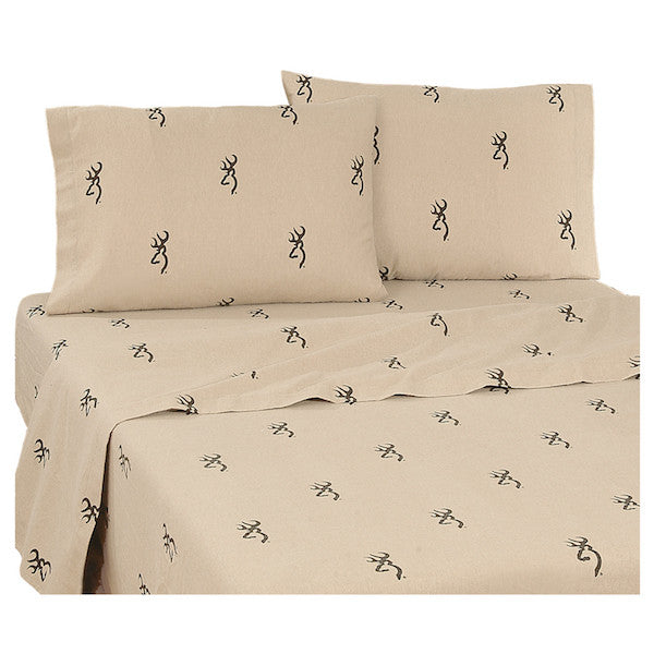Browning Buckmark Bedding | Sheet Set | The Cabin Shack