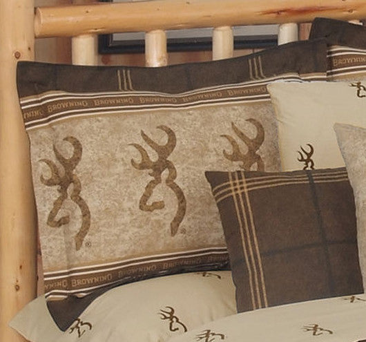 Buckmark Bedding | Sham Pillow | The Cabin Shack