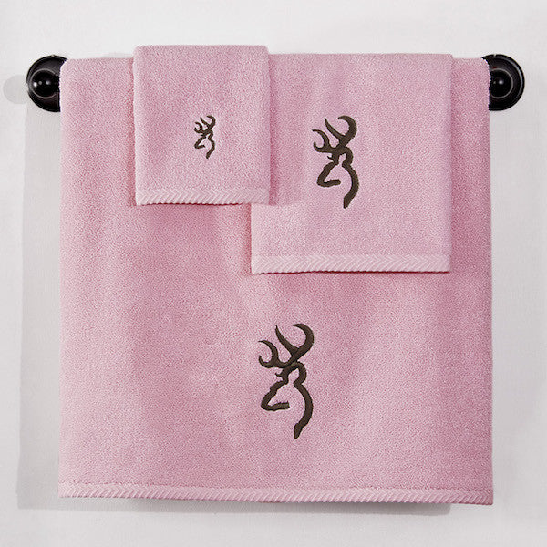 Browning Buckmark Camo Pink Towel Set | The Cabin Shack