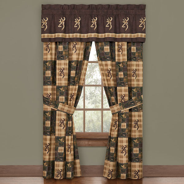 Browning Country Curtains | Cabin Bedding | The Cabin Shack