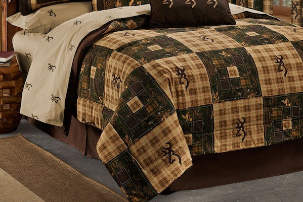 Browning Country Comforter | Cabin Bedding | The Cabin Shack