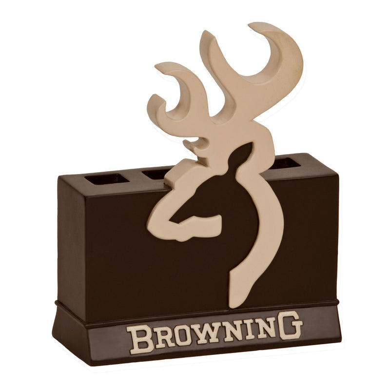 Cabin Decor - Browning Buckmark Toothbrush Holder - The Cabin Shack