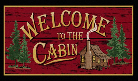 Cabin Rugs | Welcome to the Cabin | The Cabin Shack