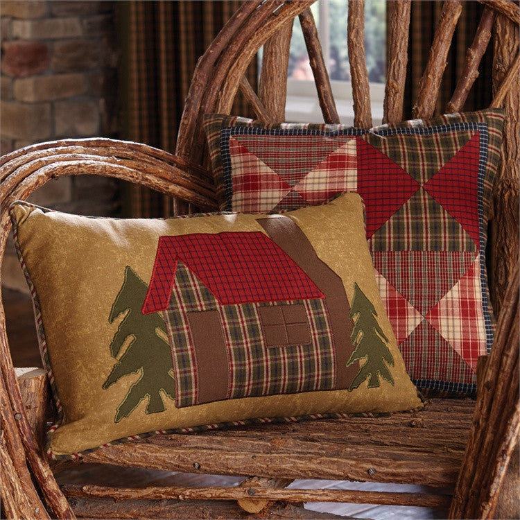 Rustic Throw Pillow Cabin Theme Throw The Cabin Shack