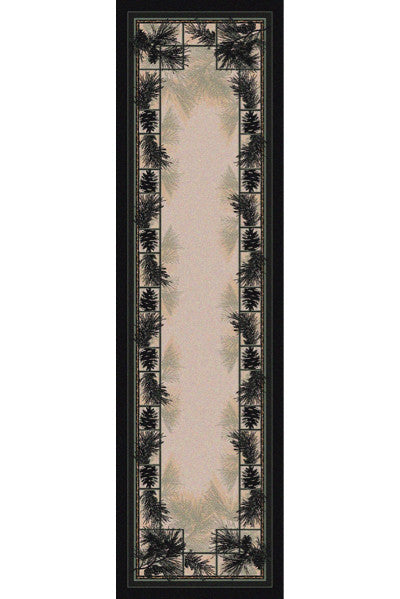 Cabin Rugs | Noble Pines Lodge Rug Runner | The Cabin Shack