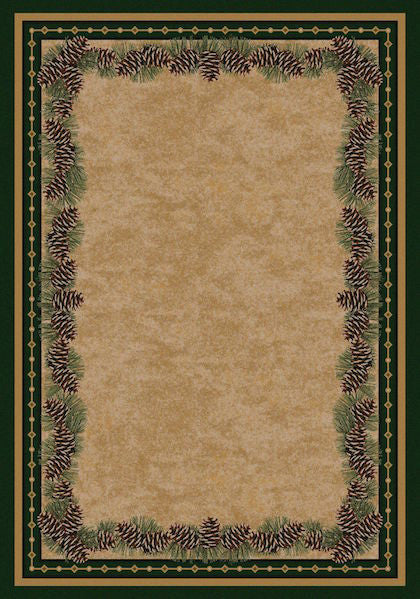 Cabin Rugs | Pine Mountain Lodge Style Rug | The Cabin Shack