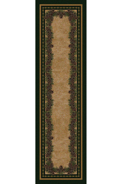 Cabin Rugs | Pine Mountain Lodge Style Rug Runner | The Cabin Shack