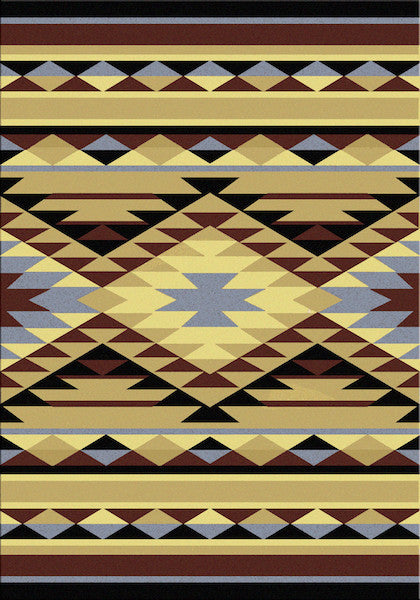 Southwest Sunrise Rustic Lodge Rug | The Cabin Shack