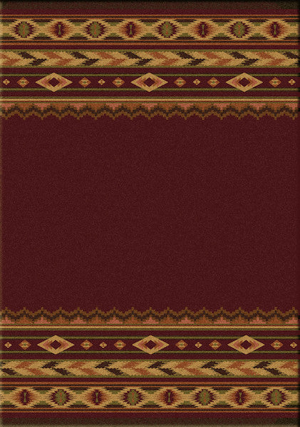 Southwest Blaze Rustic Lodge Rugs | The Cabin Shack