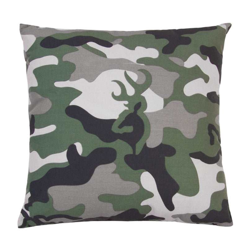 Cabin Decor - Browning Buckmark Camo Green Complete Bed Set - The Cabin Shack