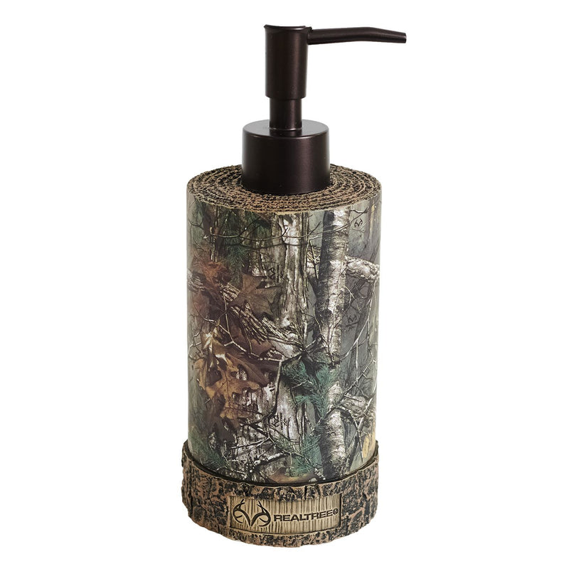 Cabin Decor - Realtree Xtra Soap Pump - The Cabin Shack