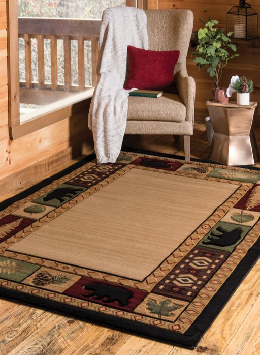 Camp Nature Rug | The Cabin Shack