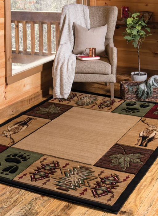 Camp Trails Rug | The Cabin Shack