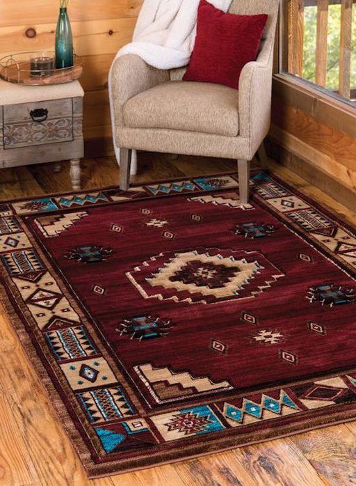 Camp Sandy Amber Rug | The Cabin Shack