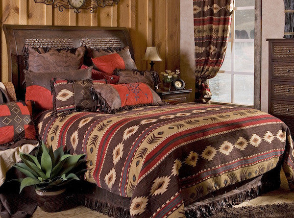 Rustic Bedding | Cimarron Cabin Bedding | The Cabin Shack