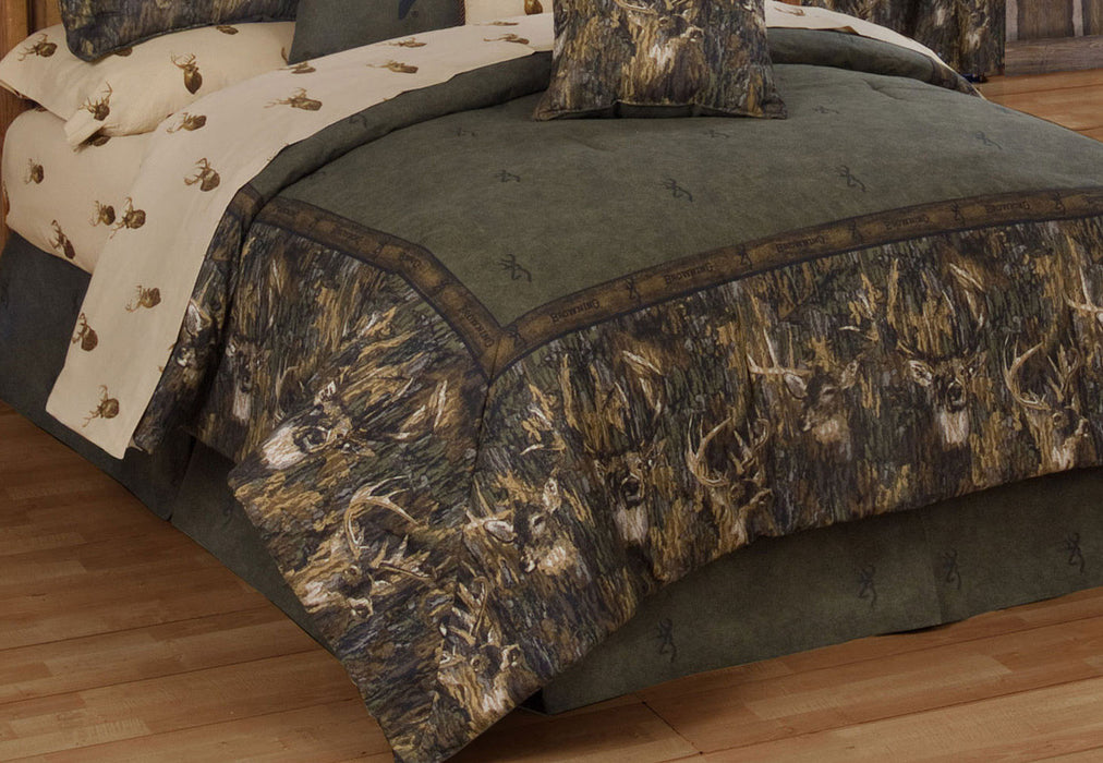 Browning Whitetails Complete Bed Set - The Cabin Shack - 6