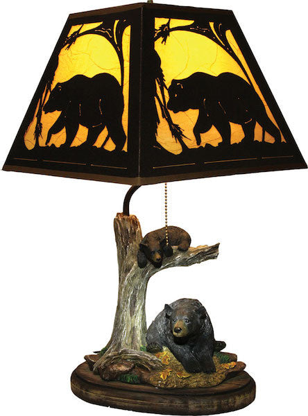 Double Trouble Bear Lamp | The Cabin Shack