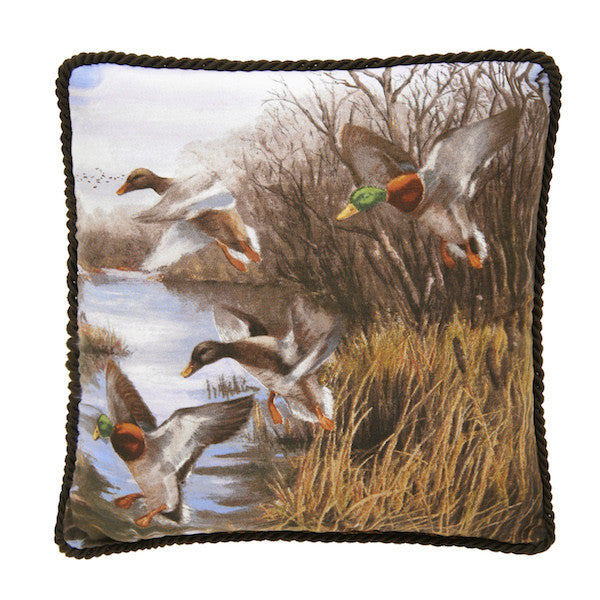 Duck Approach Cabin Bedding | Throw Pillow | The Cabin Shack