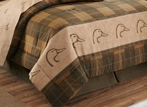 Cabin Decor - Ducks Unlimited Plaid Comforter Set - The Cabin Shack