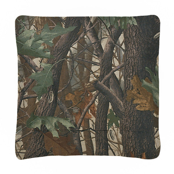 Realtree Hardwoods Throw Pillow | The Cabin Shack