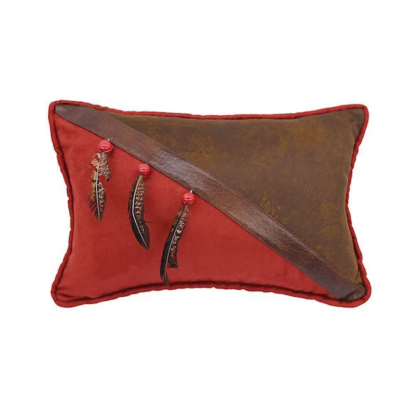 Arrow Feather Throw Pillow | The Cabin Shack