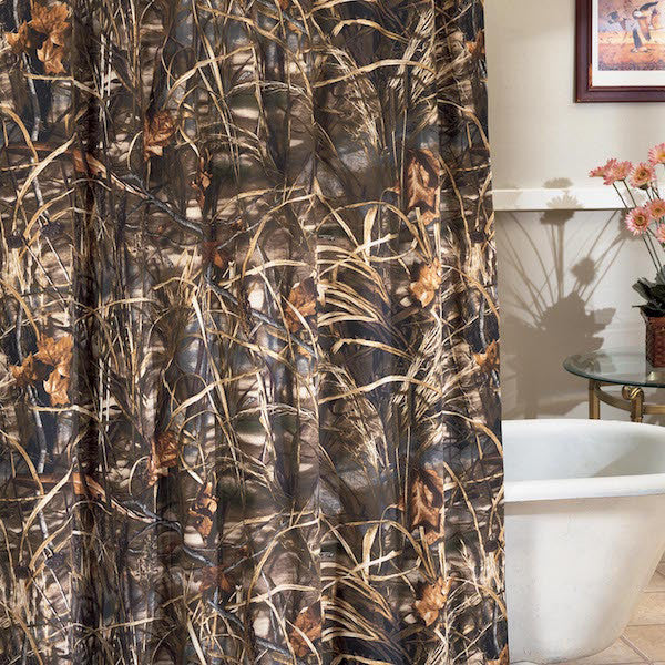 Realtree Max 4 Camo Shower Curtain | The Cabin Shack