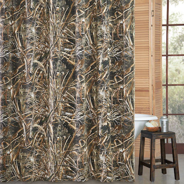 Realtree Max 5 Camo Shower Curtain | The Cabin Shack