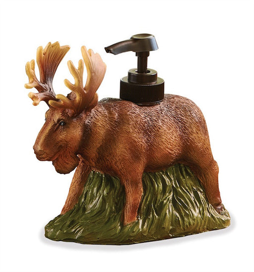 Cabin Decor - Moose Soap Dispenser - The Cabin Shack