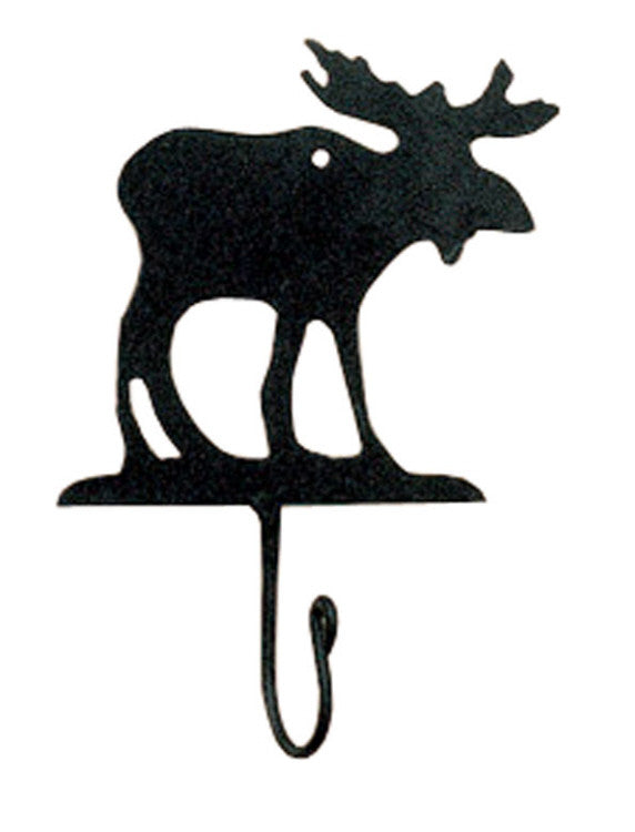Cabin Decor - Moose Iron Hook - The Cabin Shack