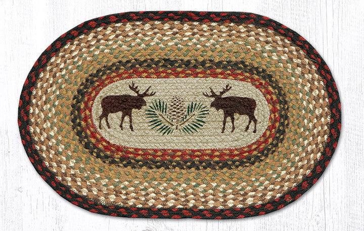 Moose & Pinecone Placemat
