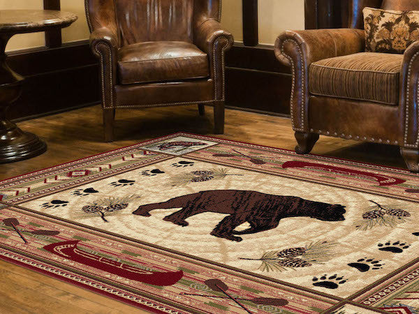 Teton Ridge Rustic Rug Collection