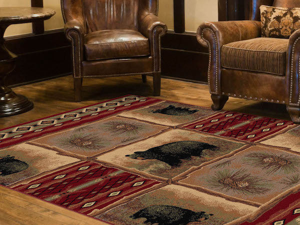 Legends of Bear Lodge Rug Collection