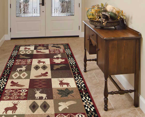 High and Low Places Lodge Rug Collection
