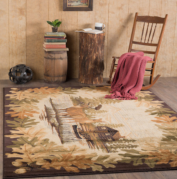 Buck Lake Rustic Lodge Rug Collection 1 | The Cabin Shack