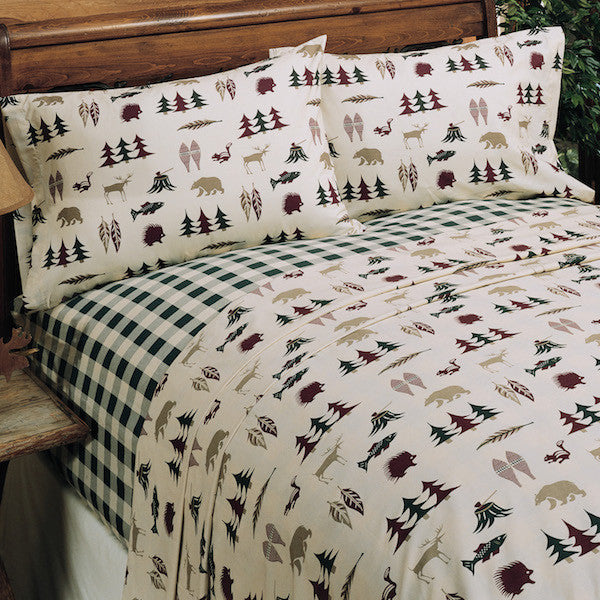 Northern Exposure Sheet Set | The Cabin Shack