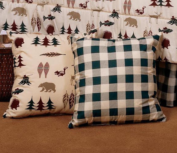 Northern Exposure Accent Pillow | The Cabin Shack