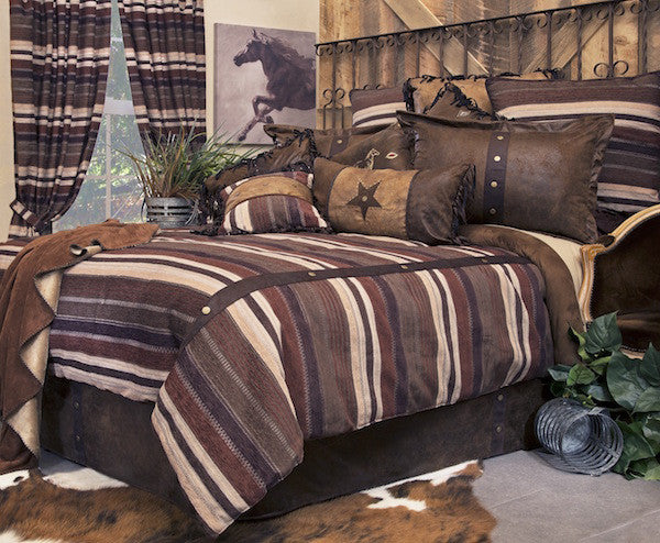 Cabin Bedding | Old West Stripe  | The Cabin Shack