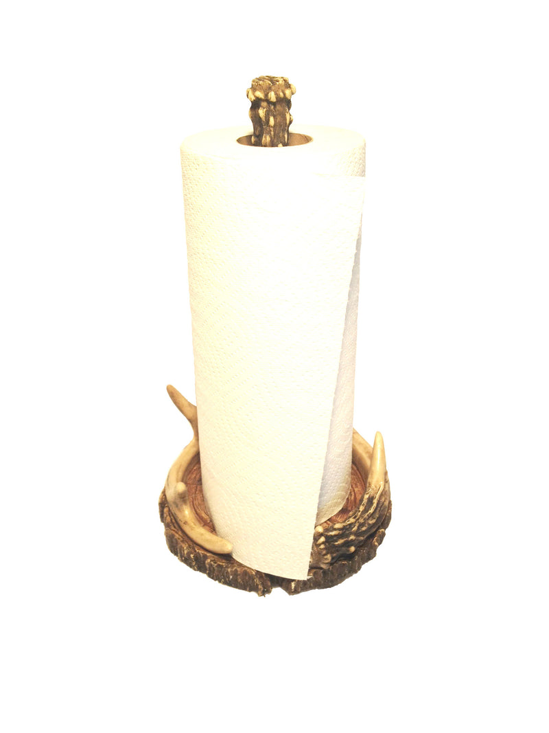 Cabin Decor - Antler Paper Towel Holder - The Cabin Shack