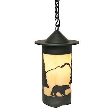 Rustic Lighting | Pasadena Bear Pendant | The Cabin Shack
