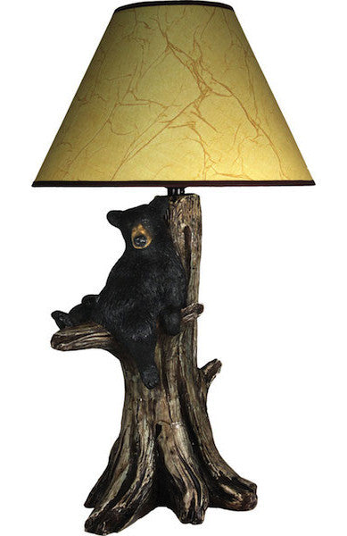 Lazy Bear Lamp | Rustic Lighting | The Cabin Shack