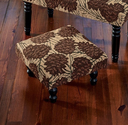 Pinecone Lodge Stool by Park Designs | The Cabin Shack